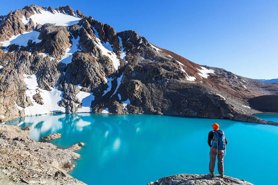 Hiking In The Patagonia