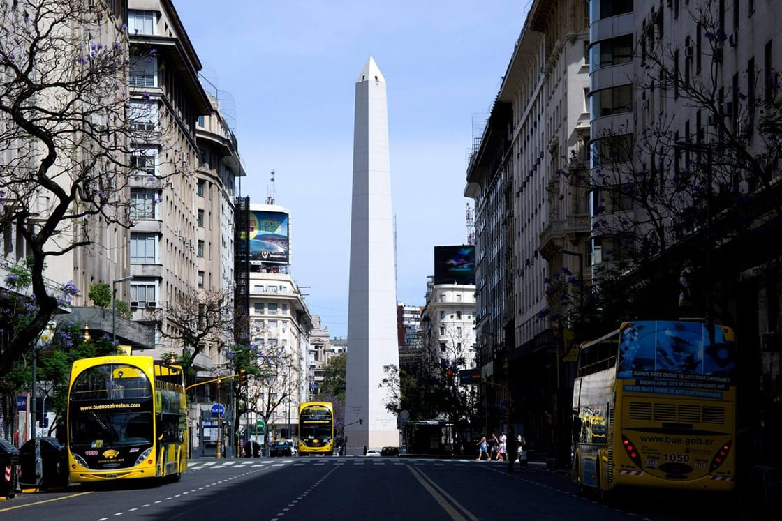 8 Best Places To Visit In Argentina-Downtown-Bs-As - Obelisco