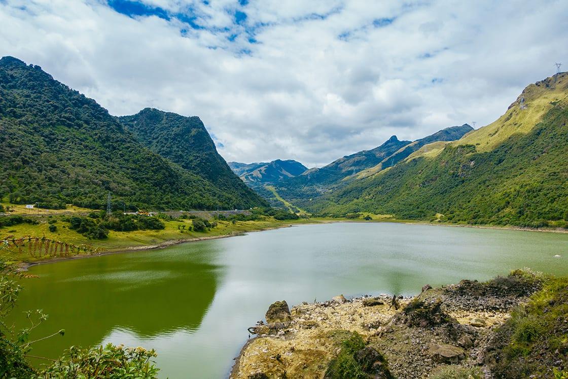 Beautiful Lagoo Located In Papallacta
