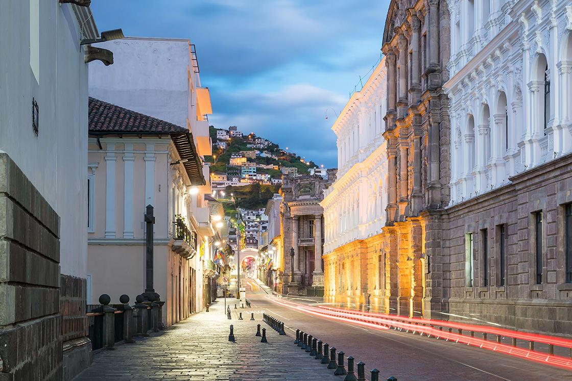 Plaza Grande In Quito Downtown