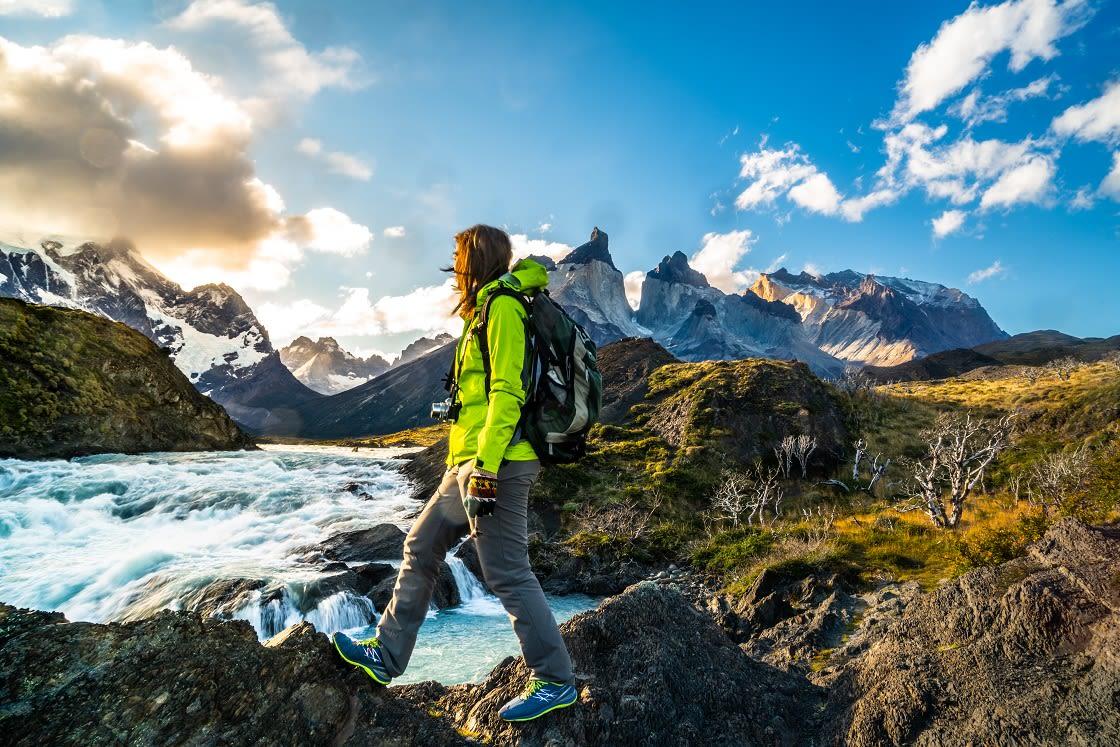 Torres Del Paine National Park, Mountain Landscape