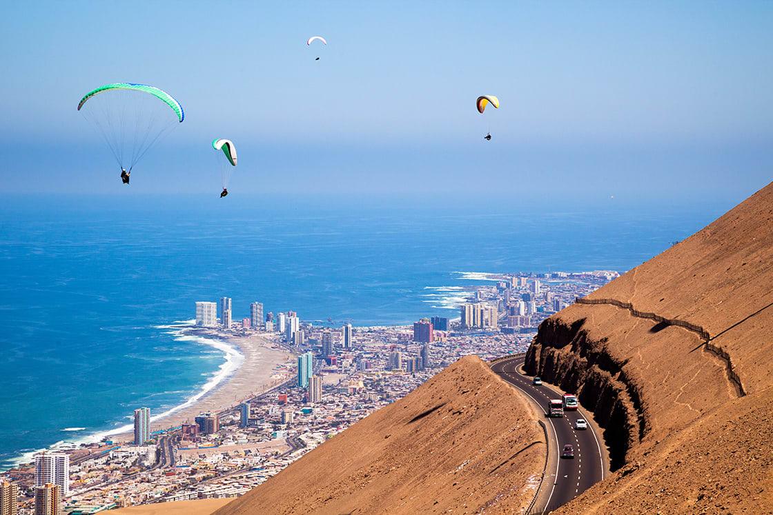 Paragliding In Iquique