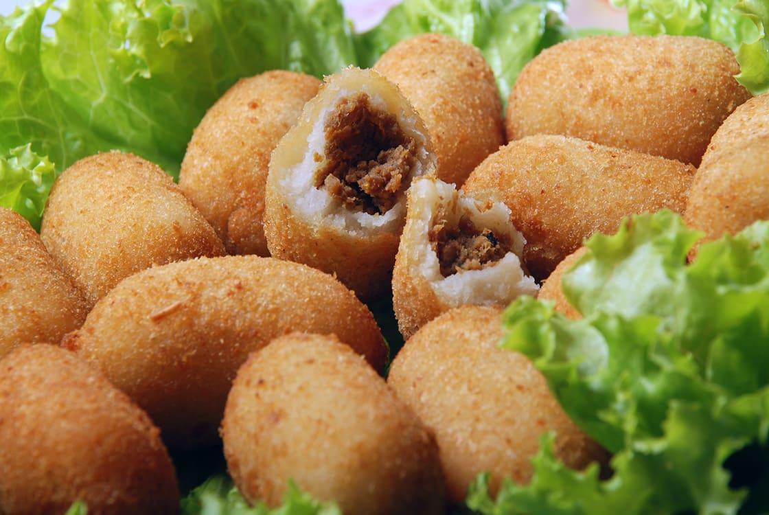 Delicious Brazilian Snack Of Mandioca