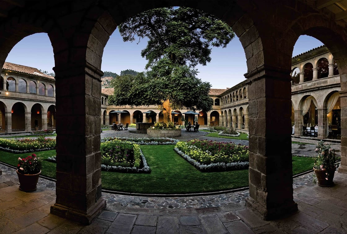 Main Patio Of The Monasterio Hotel By Belmond,