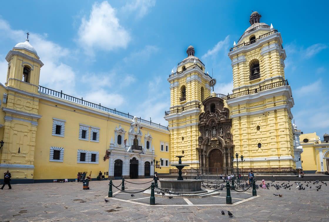 San Francisco Church And Convent In Lima, Peru