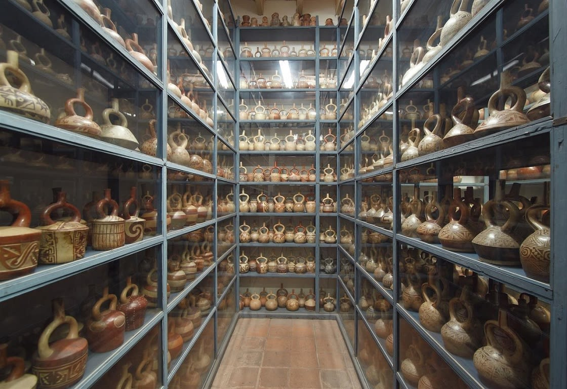 Visitable Deposits At Larco Museum, Lima
