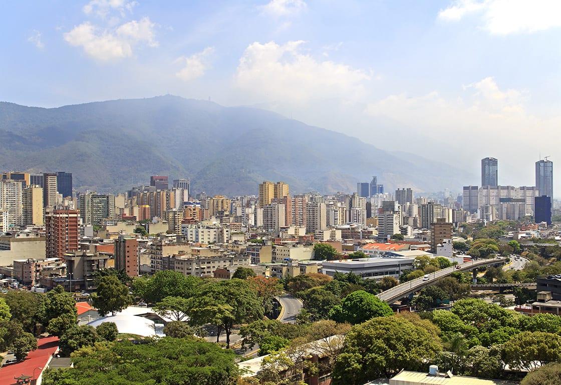 Skyline,Of,Caracas,City.,Capital,Of,Venezuela