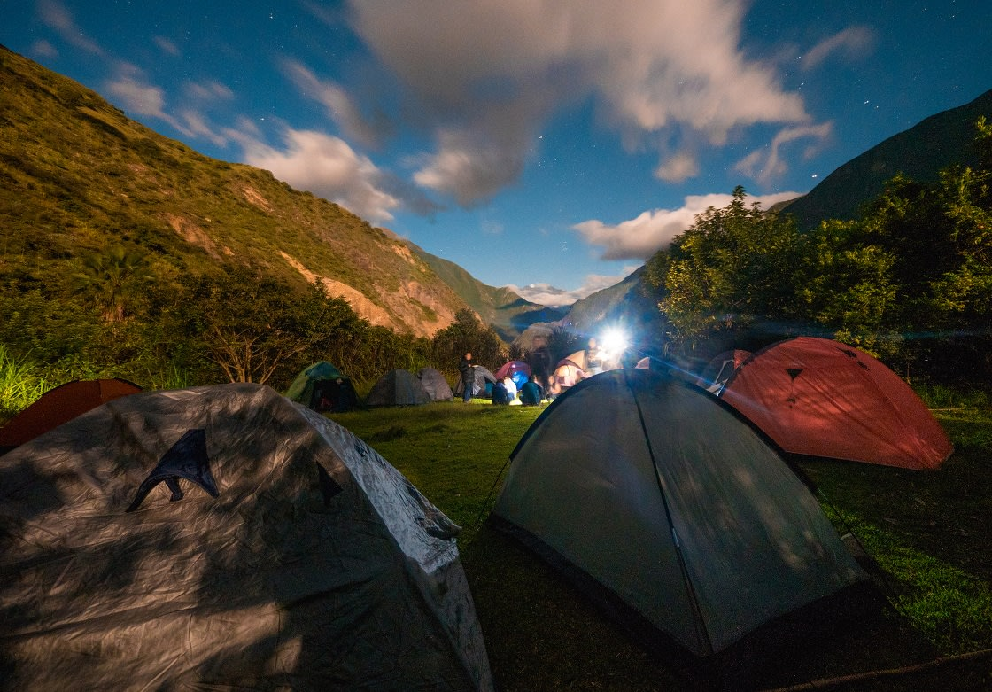 Camping At Chiquisca, On The Way To Choquequirao