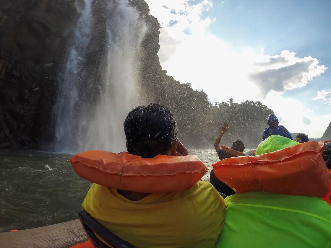 Boat,Tour,To,Cataratas,Do,Iguazu