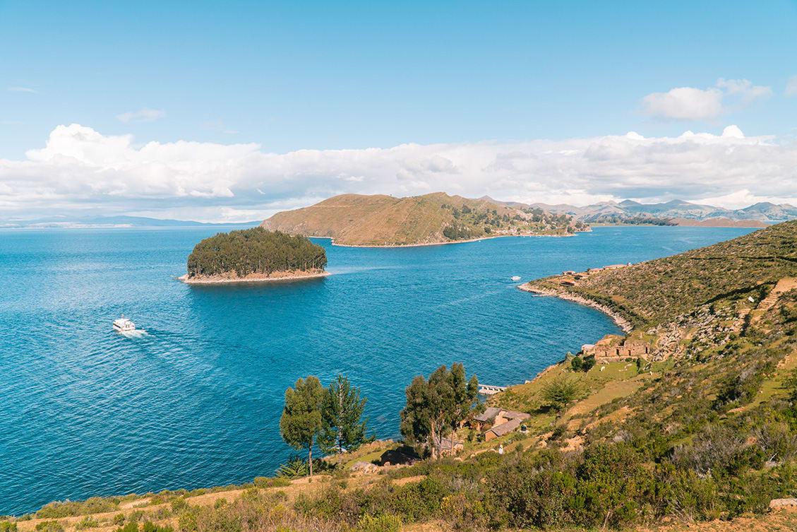 Boat Ride In Lake TIticaca