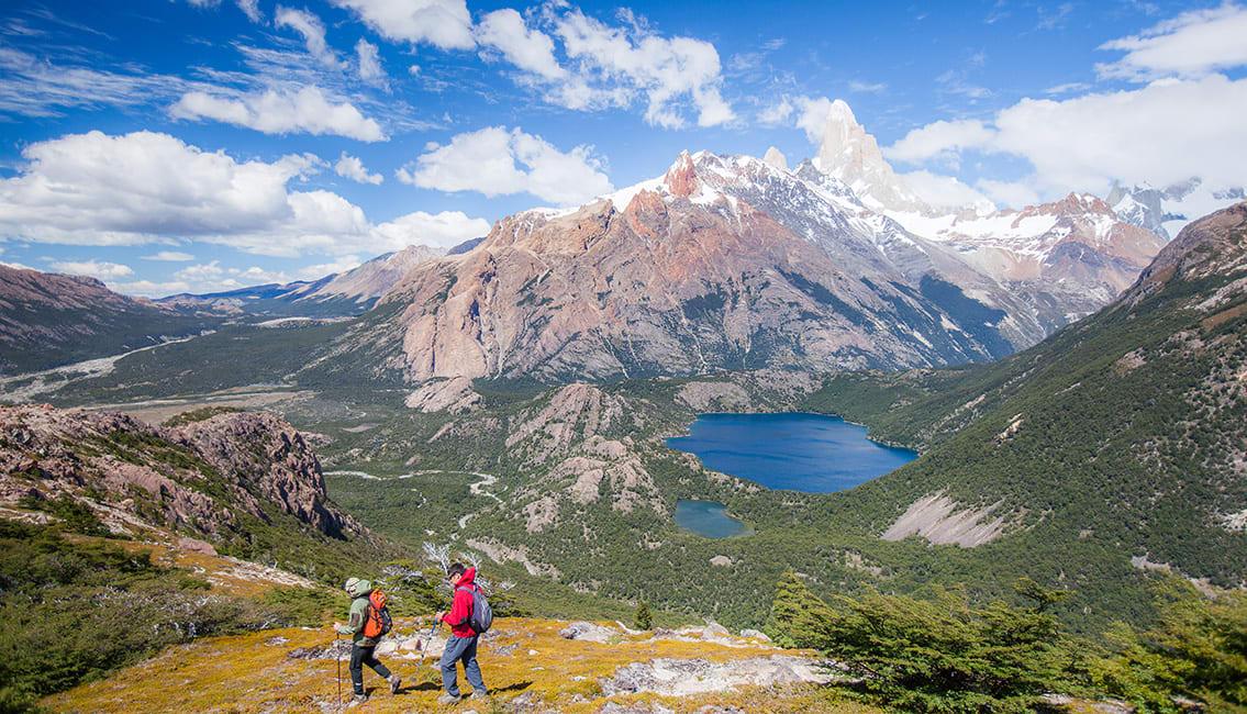 Hiking In Patagonia, Argentina