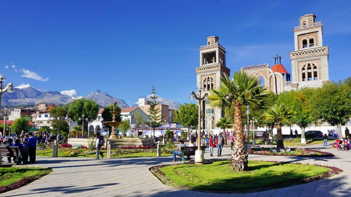 Huaraz Main Square