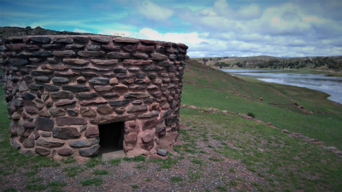 Chullpas from the Tiwanaku