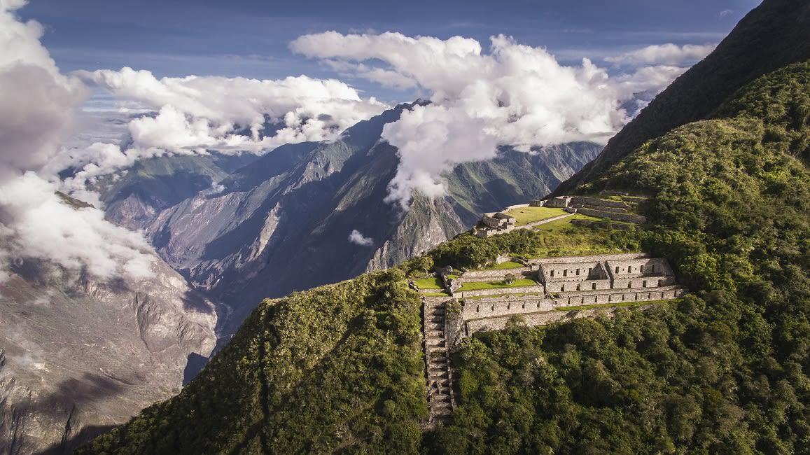 Inca Site Of Choquequirao
