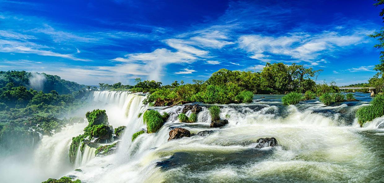 Most Beautiful Iguazu Waterfall