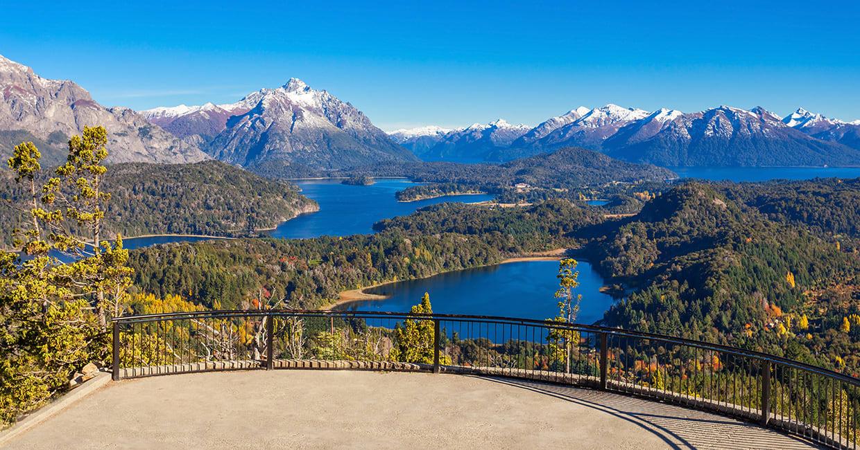 View Point Near Bariloche In Nahuel HUapi