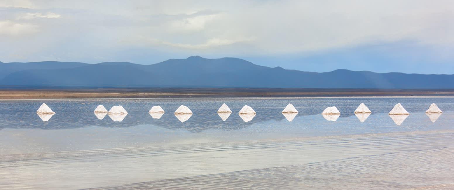 Uyuni Salt Flats, is the world's largest salt flat.