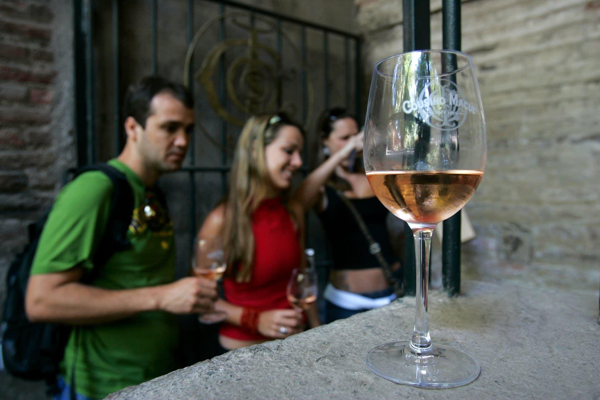 Wine Testing At Cosiño Mocul Bodega