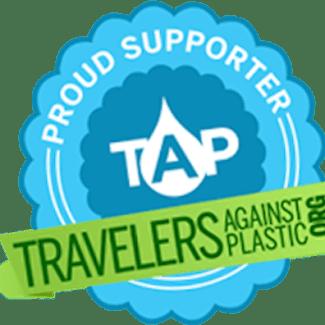 Travelers Against Plastic Supporter's Logo
