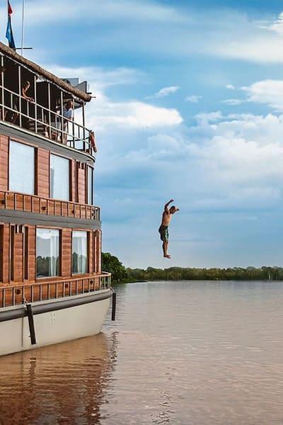 Adventure Cruise In The Amazon