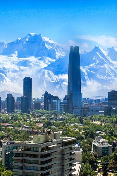 Santiago,White,Cityscape