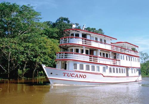 Tucano on the river