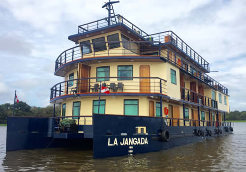 La Jangada on the river