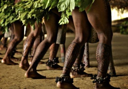 Indigenous ceremony Brazil