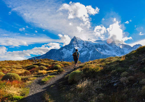 Hiking Beautiful Torres Del Paine Chile