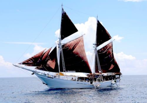 Katharina sailing