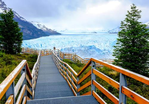 Boardwalk to Glaciers Argentina Ushuaia