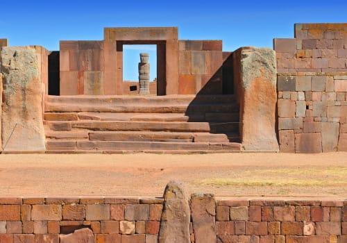 Ancient Tuwanaku city ruins