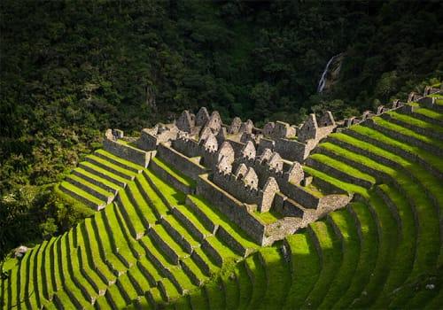 Inca Trail Views of Ruins