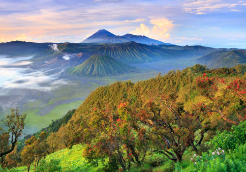 Bromo from the distance