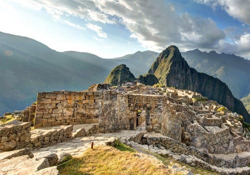 Panoramic View Of The Machupicchu Citadel, Cuzco - Peru