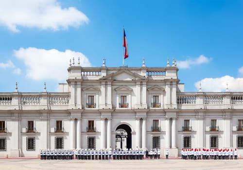 A,Public,Procession,In,Front,Of,La,Moneda,Palace,(palacio