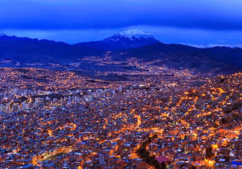Night,View,Of,La,Paz,,Bolivia