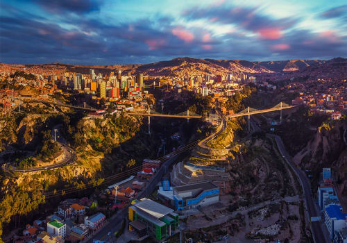 La Paz, panoramic view
