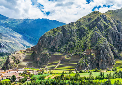 Inca Fortress Of Ollantaytambo