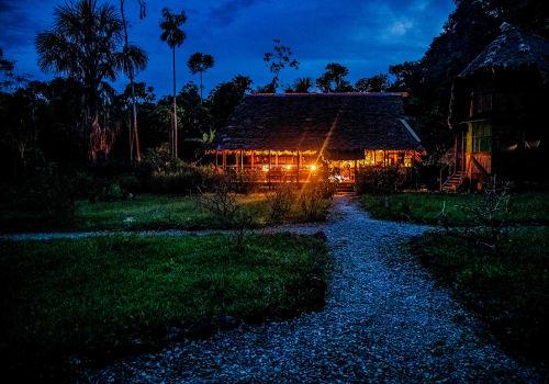 Amazon,Rain,Forest,Lodge
