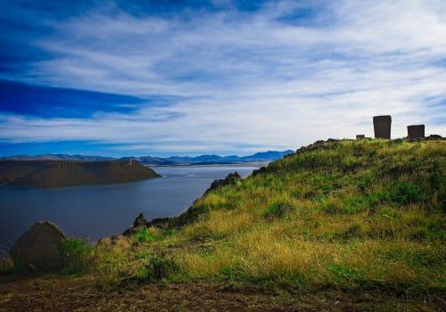 Chullpa,(funeral,Tower),At,Sillustani,Cemetery,,Hatuncolla,,Puno,Region,,Peru.