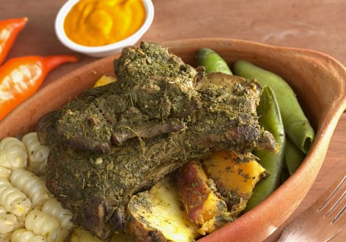 Traditional,Peruvian,Food,Called,Pachamanca,Which,Is,From,The,Andean