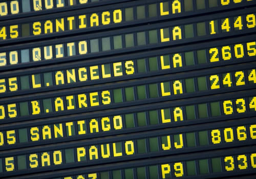Black,Airport,Departures,Board,With,Mainly,Flights,To,Cities,In
