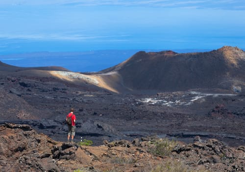Volcano,Sierra,Negra,,Galapagos,Islands,,Ecuador.,The,Second,Largest,Crater