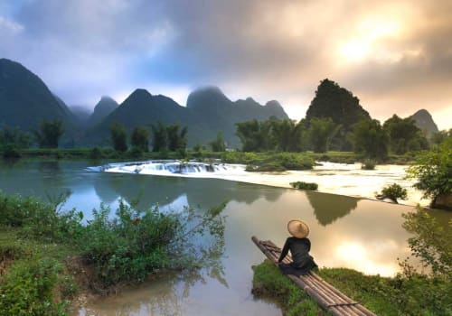 Local fisherman in the northern Vietnam