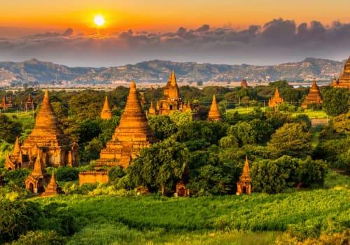 Bagan temples plains