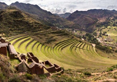 Pisac ruins panorama