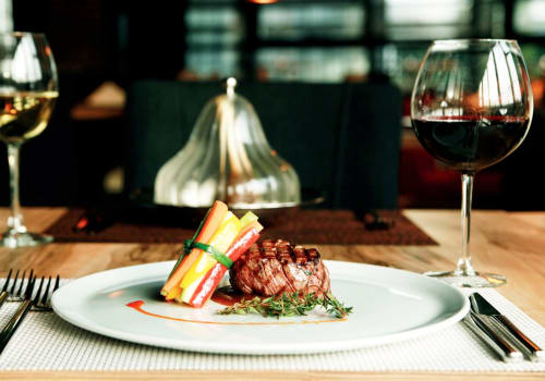 Beef Tenderloin White Wine And Red Wine Vegetable Bouquet