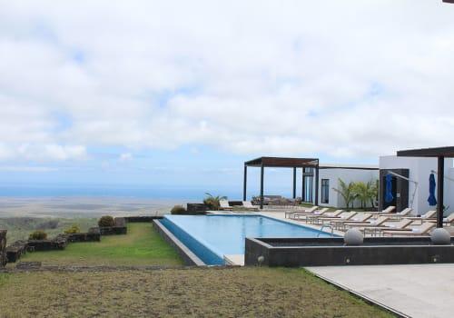 Pool at the PIkaia Lodge IN galapagos