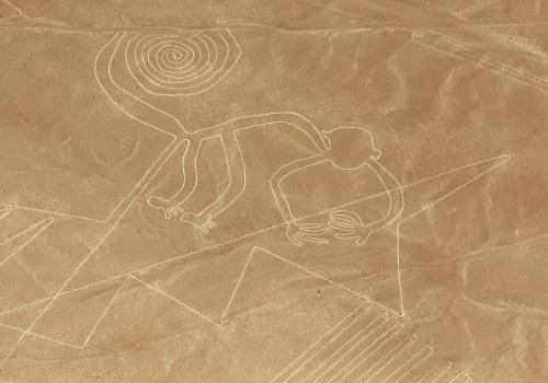 Aerial View Of Monkey Geoglyph